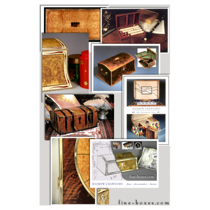 fine boxes postcard collage