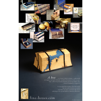 fine boxes poster