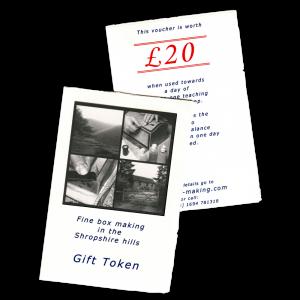 smartBoxmaker gift tokens